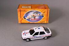 ZT624 NOREV voiture 1/43 Peugeot 309 police 1992