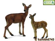 Nuevo Safari Alce juguete de plástico sólido Wild Zoo Alce Ciervo Animal Bosque