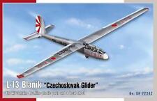"""Special Hobby 72342 l-13 blanik """"Czechoslovak Glider"""" en 1:72"""