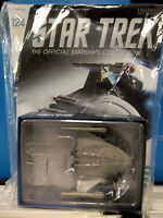 Star Trek Eaglemoss Die-Cast #124 EMMETTE Ship w/Magazine