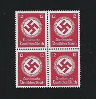 MNH stamp BLOCK  / PF12 / WWII Germany /  WWII emblem / Third Reich / MNH