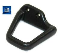 93-02 Camaro Firebird Driver LH Black Ebony Solid Seat Belt Guide NEW GM  201