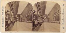 Galerie des Batailles Versailles Stereo Photo Neurdein Vintage albumine ca 1885