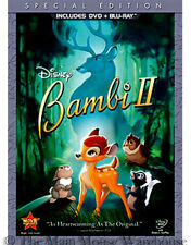 Disney Bambi Sequel 2 II DVD Blu-ray Pack Patrick Stewart Great Prince of Forest