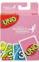 UNO Susan G. Komen Sponsored Family Card Game *CHARITY EDITION*