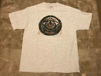 Vintage 90s 1992 Native American Sturgis Motorcycles T-Shirt Adult Size Medium