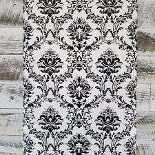 Black and White Victorian Damask Wallpaper BK32013 Roll