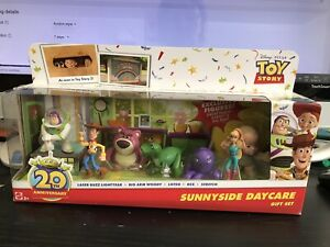 SUNNYSIDE DAYCARE 20TH ANNIVERSARY GIFT SET TOY STORY 2014 MATTEL