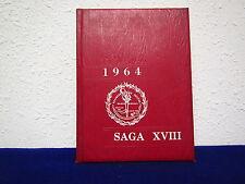 "1964 BRAINERD JUNIOR COLLEGE YEARBOOK "" SAGA XVIII "",  BRAINERD , MINNESOTA"