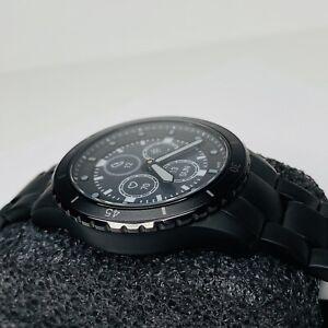 Fossil FTW7017 Hybrid Smartwatch HR FB-01 Black Stainless Steel