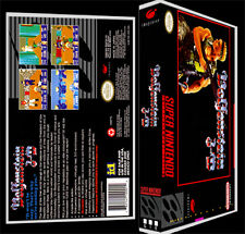 Wolfenstein 3D - SNES Reproduction Art Case/Box No Game.