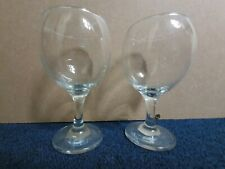 2 Small Glasses Wine 13.5 Cm