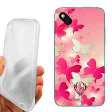 CUSTODIA COVER CASE TPU VOLO DI FARFALLE  PER WIKO SUNSET 2