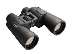 Olympus Fernglas 10x50 S Schwarz Dioptrienausgleich Binoculars inkl Tasche