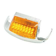 guardabarros delantero TIP CON LED,naranja,Para Harley - DAVIDSON FL,FLT,FLST