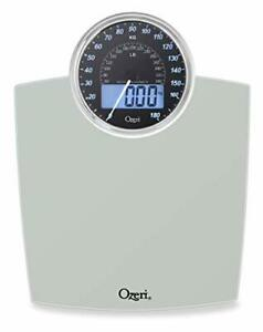 Ozeri Rev (400 lbs / 180 kg) Bathroom Scale with Electro-Mechanical Weight Dial