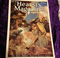 Art Nouveau Frog Prince Hearst's Magazine Print Color By Maxfield Parrish Poster