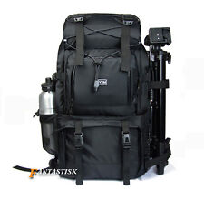 "Large 40L Waterproof DSLR Camera Backpack Rucksack 17"" Laptop Bag Shoulder Bag"