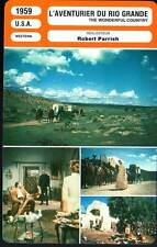 L'AVENTURIER DU RIO GRANDE - Mitchum (Fiche Cinéma) 1959 - The Wonderful Country