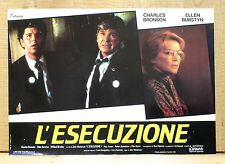 L'ESECUZIONE fotobusta poster Charles Bronson Ellen Burstyn Act of Vengeance