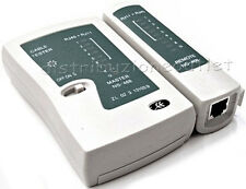 TESTER PER CAVI DI RETE LAN RJ-45 RJ-11 RJ-12 CAT-5 USB