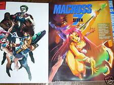 Macross 7 Art Book  RARE Japanese
