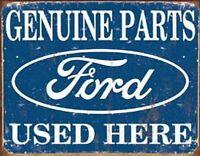 INSEGNA METALLO SMALTATO Ford Genuine Parts Used Here