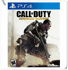 PS4 Call of Duty Advanced Warfare COD SONY PLAYSTATION Activision Shooting Games