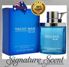 YACHT MAN BLUE by MYRURGIA100ml EDT Spray Perfume For Men...........New (BNIB)