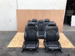 BMW E39 M5 M 2000-2003 OEM Vorne & Hinter Sitze Sitz (Schwarz / Set)