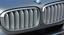 BMW X5 F15 Front Radiator Titanium Kidney Grilles PAIR GENUINE