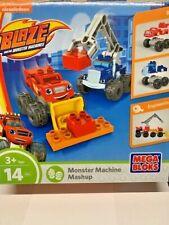 BLAZE AND THE MONSTER MACHINES MASHUP MEGA BLOKS NEW Nickelodeon