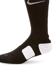 Nike Men's Black Hyperelite Basketball Crew Cut Socks 4520 Size XL