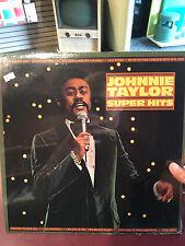 "JOHNNIE TAYLOR ""SUPER HITS"" STAX MINT SEALED LP"