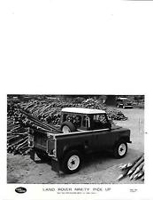"1964 LAND ROVER NINETY 90 PICK UP ORIGINALE PRESS PHOTO ""brochure"" connesso"