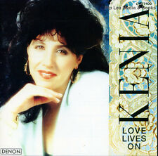 Kenia - Love Lives On (Denon, CY77400, CD Made in Japan, 1991) VERY GOOD