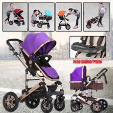 4 IN 1 CHILD BABY TODDLER PRAM STROLLER TRAVEL JOGGER NEWBORN PUSHCHAIR