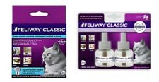 Feliway CLASSIC Plug-in Diffuser Starter Kit + (1) 2ct (60 day) Refill Pack!