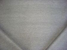 19-1/2Y HANDSOME KRAVET SMART 33832 GREY / SILVER HERRINGBONE UPHOLSTERY FABRIC