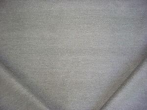 19-1/2Y HANDSOME KRAVET SMART 33832 GREY / WHITE HERRINGBONE UPHOLSTERY FABRIC