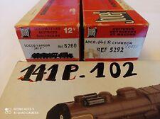 Train électrique - JOUEF - Ref 241P, 141R et 141P102 - lot de 3 loco+tender