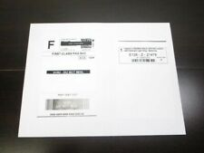 100 Single Side Self Adhesive Paypal Shipping Postage Labels With Receipt Side