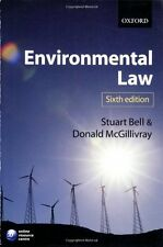 Environmental Law,Stuart Bell, Donald McGillivray