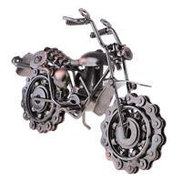 Retro Classic Handmade Iron Motorcycle Collectible Art Sculpture Decor A