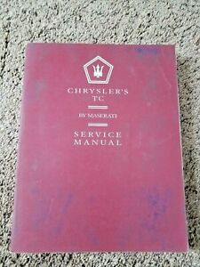 1990-1991 Chrysler's TC By Maserati Service Manual