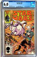 Star Wars #105 Marvel Comics 1986 CGC 6.0