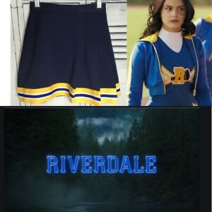 "Real Cheerleading Uniform Skirt Riverdale 24""Waist"