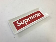 1 x Supreme Ceramic Tray White Red Box Logo 2014 ASHTRAY WITH BOX FALL WINTER