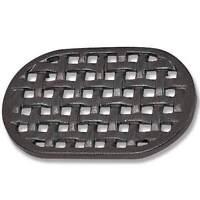 Cast Iron Black Oval Lattice Trivet for Wood Stove Steamers