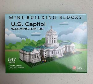 NIP Mini Building Blocks Set US United States Capitol Washington DC Model New